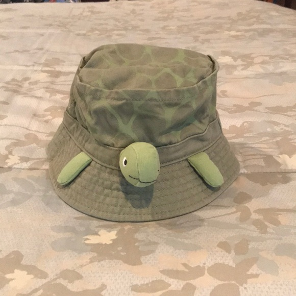 c9ec3ad64eb Gymboree Other - HOST PICK!! 🐢🐢 3-D turtle bucket hat
